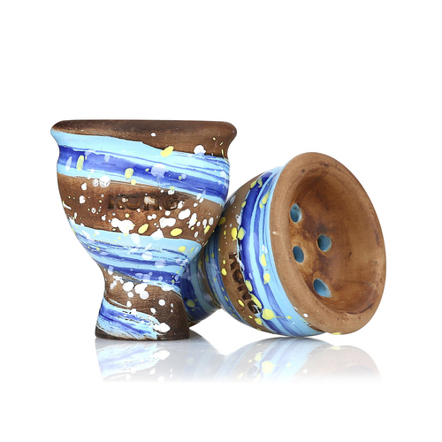 KONG Mummy Space  Hookah Bowl (Van Gogh Blue)