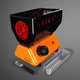 GEMINI Turbo Charcoal Heater
