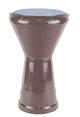 Darbuka Drum Percussion Musical Instrument - Burgundy Aluminum