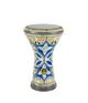 Drum Darbuka Tabla Mother of Pearl - Free Bag - Style Azure