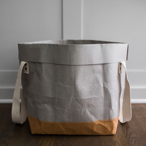 Two-Tone Jumbo Shortie Paper Bag