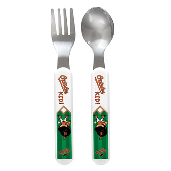 Baltimore Orioles Spoon & Fork Set