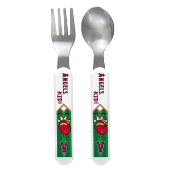 Los Angeles Angels Spoon & Fork Set