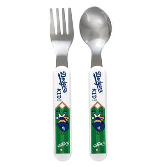 Los Angeles Dodgers Spoon & Fork Set