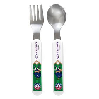 Texas Rangers Spoon & Fork Set