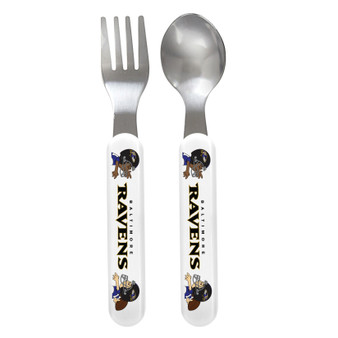 Baltimore Ravens Spoon & Fork Set