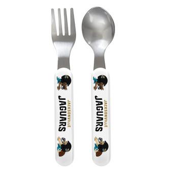 Jacksonville Jaguars Spoon & Fork Set