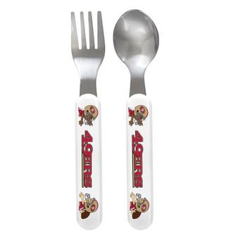 San Francisco 49ers Spoon & Fork Set