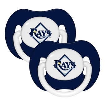 Tampa Bay Rays Pacifier with Handle - 2-Pack