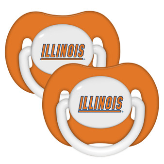 Illinois Pacifier with Handle - 2-Pack