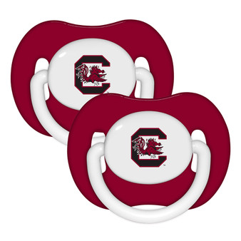 South Carolina Pacifier with Handle - 2-Pack