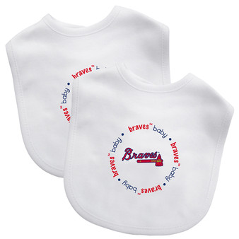 Atlanta Braves 2-Pack Bibs