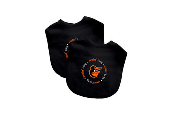 Baltimore Orioles 2-Pack Bibs