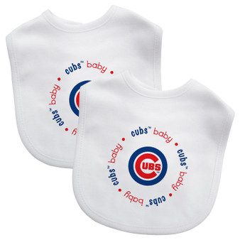 Chicago Cubs 2-Pack Bibs