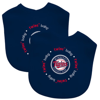 Minnesota Twins 2-Pack Bibs