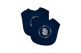 San Diego Padres 2-Pack Bibs
