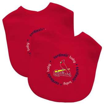 St. Louis Cardinals 2-Pack Bibs