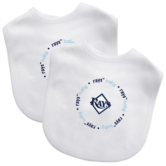 Tampa Bay Rays 2-Pack Bibs