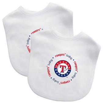Texas Rangers 2-Pack Bibs