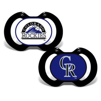 Colorado Rockies 2-Pack Pacifier