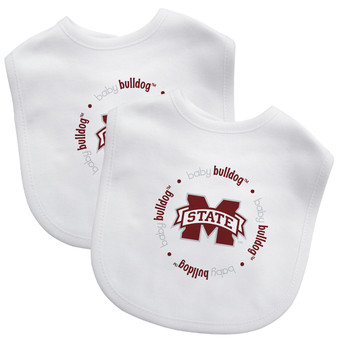 Mississippi State 2-Pack Bibs