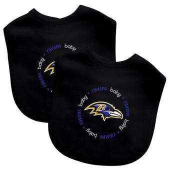Baltimore Ravens 2-Pack Bibs