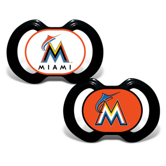 Miami Marlins 2-Pack Pacifier