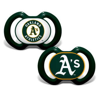 Oakland Athletics 2-Pack Pacifier