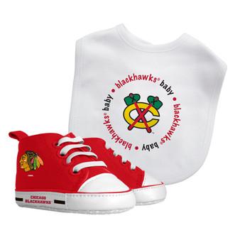 Baby Fanatics NHL Chicago Blackhawks 2-Piece Gift Set