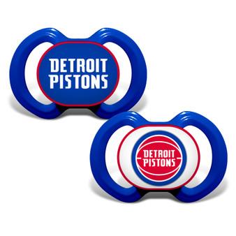 Detroit Pistons 2-Pack Pacifier