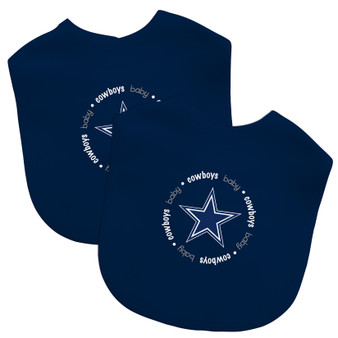 Baby Fanatics NFL Dallas Cowboys 2-Pack Bibs