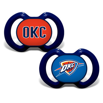 Oklahoma City Thunder 2-Pack Pacifier