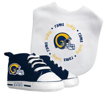 Baby Fanatics NFL Los Angeles Rams 2-Piece Gift Set - Vintage