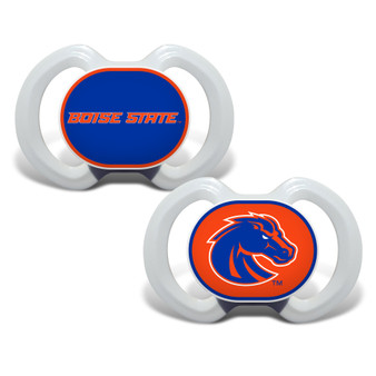 Boise State 2-Pack Pacifier
