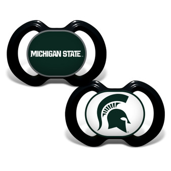 Michigan State 2-Pack Pacifier