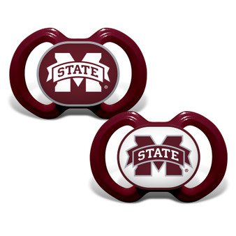 Mississippi State 2-Pack Pacifier