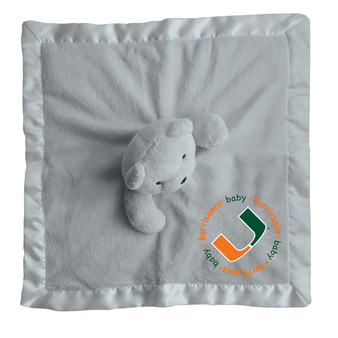 Baby Fanatic NCAA Miami Security Bear - Gray