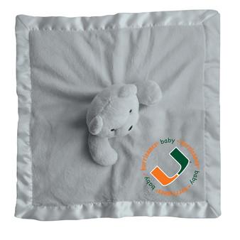 Baby Fanatic NCAA Miami Security Bear - Gray