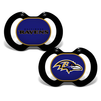 Baltimore Ravens 2-Pack Pacifier