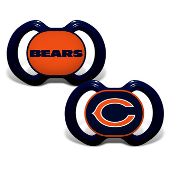 Chicago Bears 2-Pack Pacifier