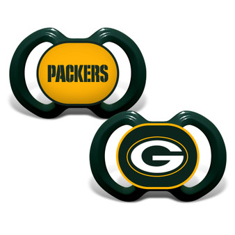 Green Bay Packers 2-Pack Pacifier