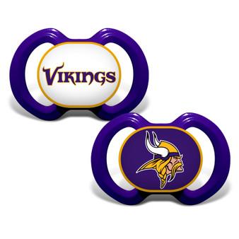 Minnesota Vikings 2-Pack Pacifier