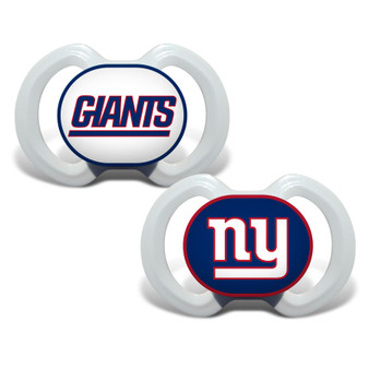 New York Giants 2-Pack Pacifier