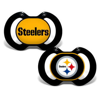 Pittsburgh Steelers 2-Pack Pacifier