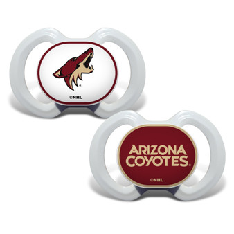 Arizona Coyotes 2-Pack Pacifier