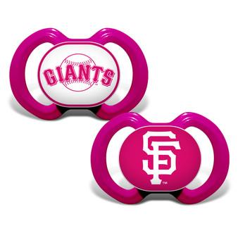 San Francisco Giants Pacifier Pink