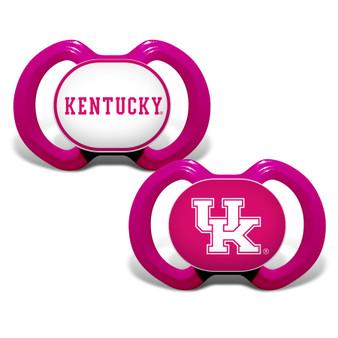 Kentucky 2-Pack Pink Pacifier