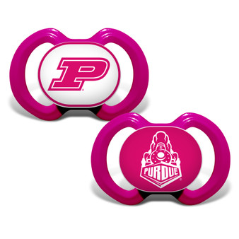 Purdue 2-Pack Pink Pacifier