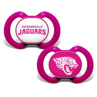 Jacksonville Jaguars 2-Pack Pink Pacifier