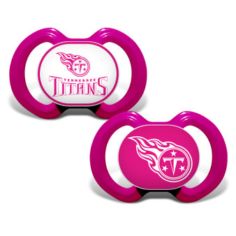 Tennessee Titans 2-Pack Pink Pacifier